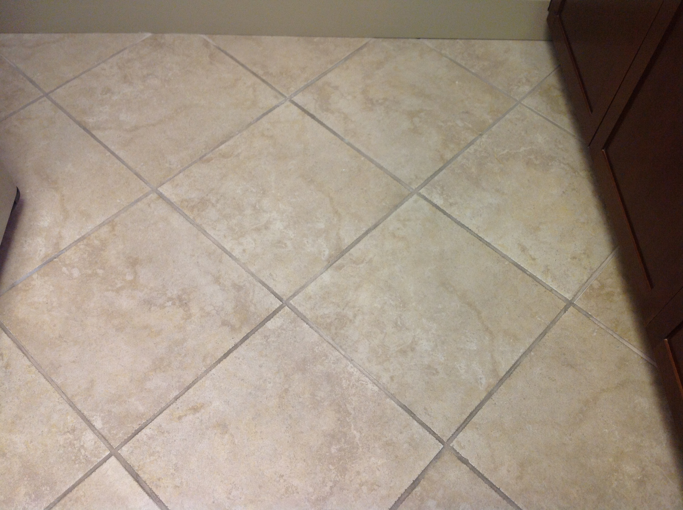 Cleaned Porcelain Tile