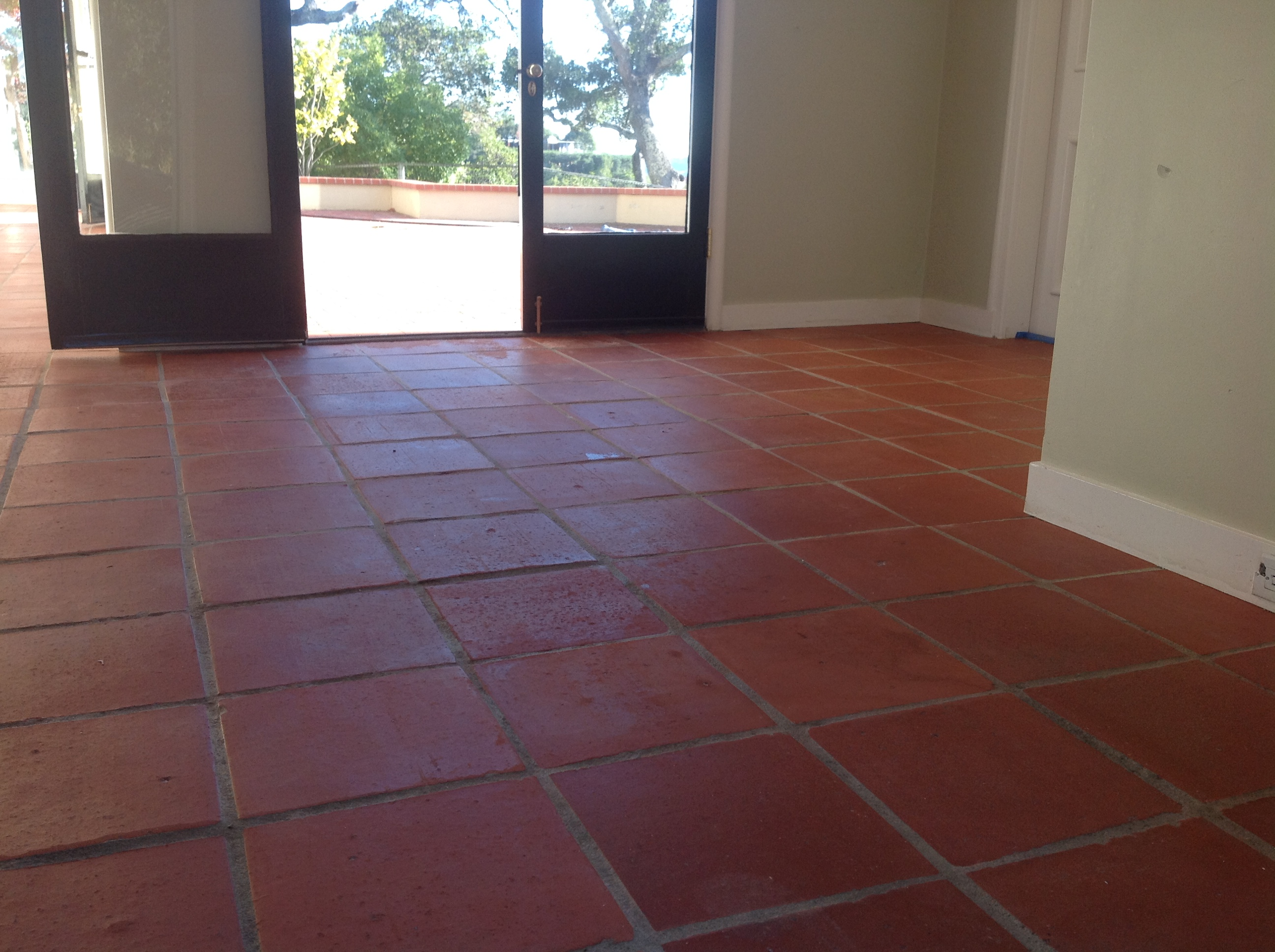 Expert wax removal specialist of all antique pavers mexican some tiles left a greasy film due to some replaced tiles that were a lot more dense like ceramic tile flooring this is where our detailed deep cleaning dailygadgetfo Gallery