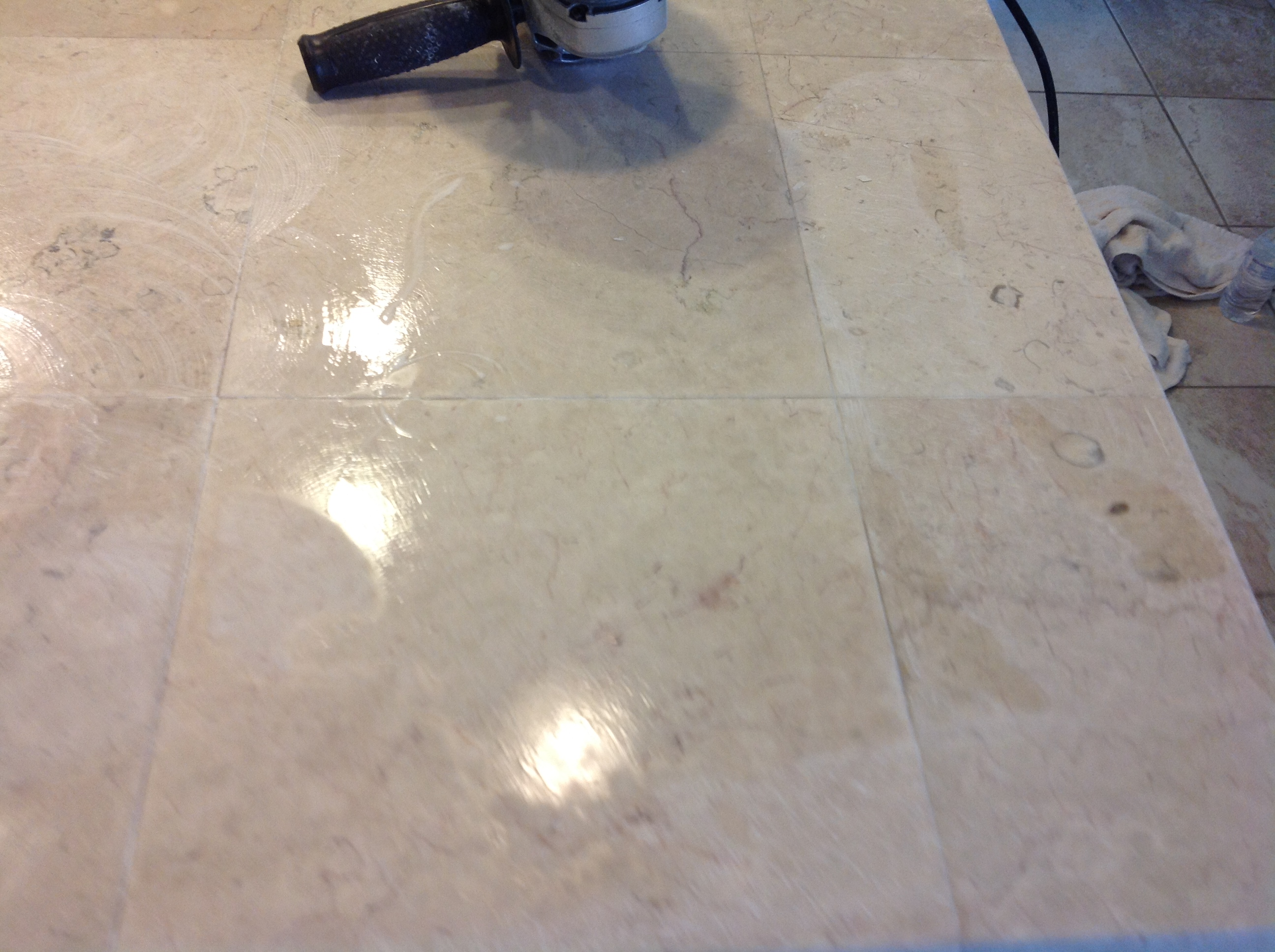 Marble Tile Countertop : San Francisco Marble tile Countertop Polishing & Grout Cleaning