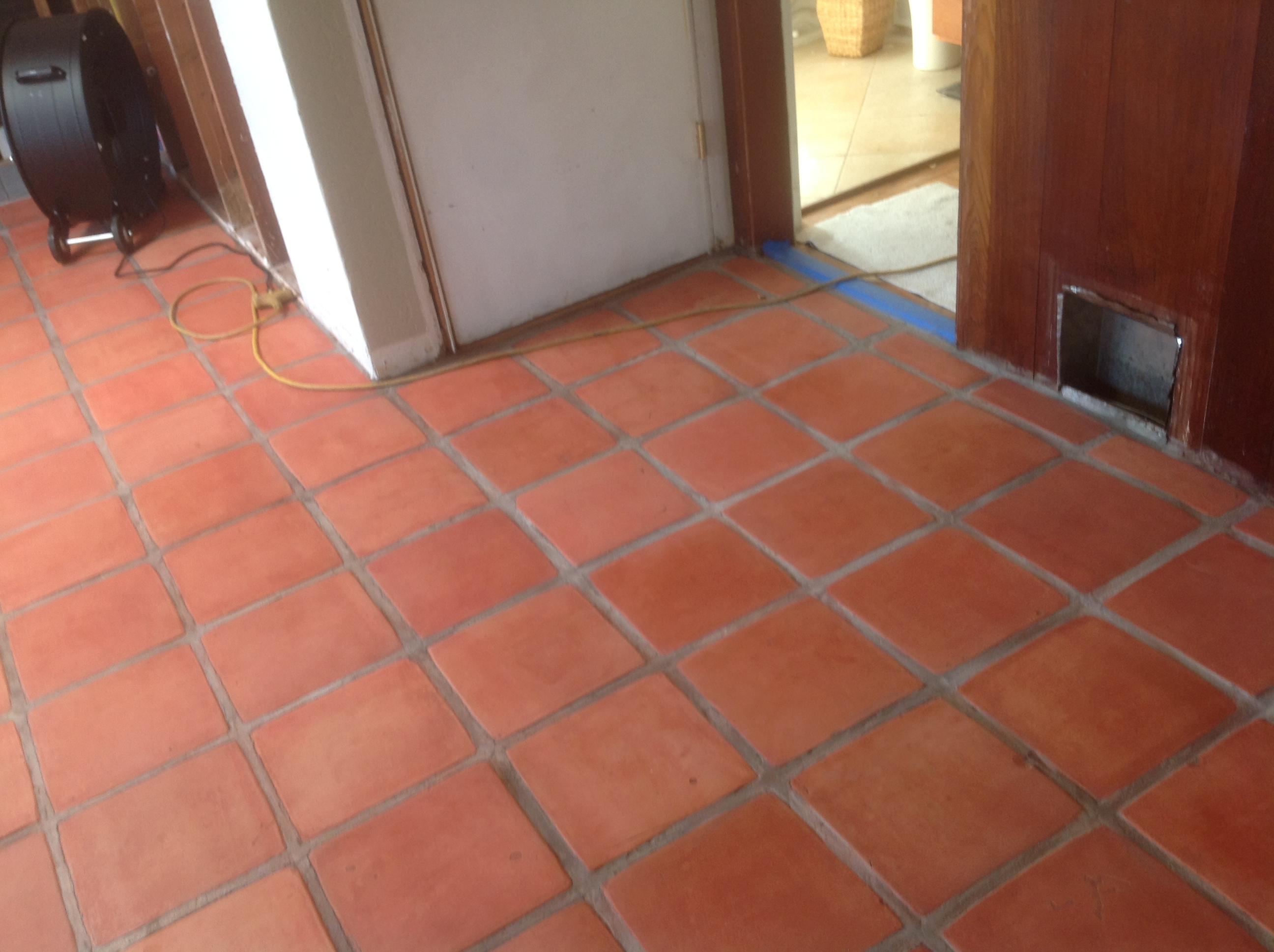 Staining and sealing saltillo tile the correct way california stained raw saltillo tile dailygadgetfo Choice Image