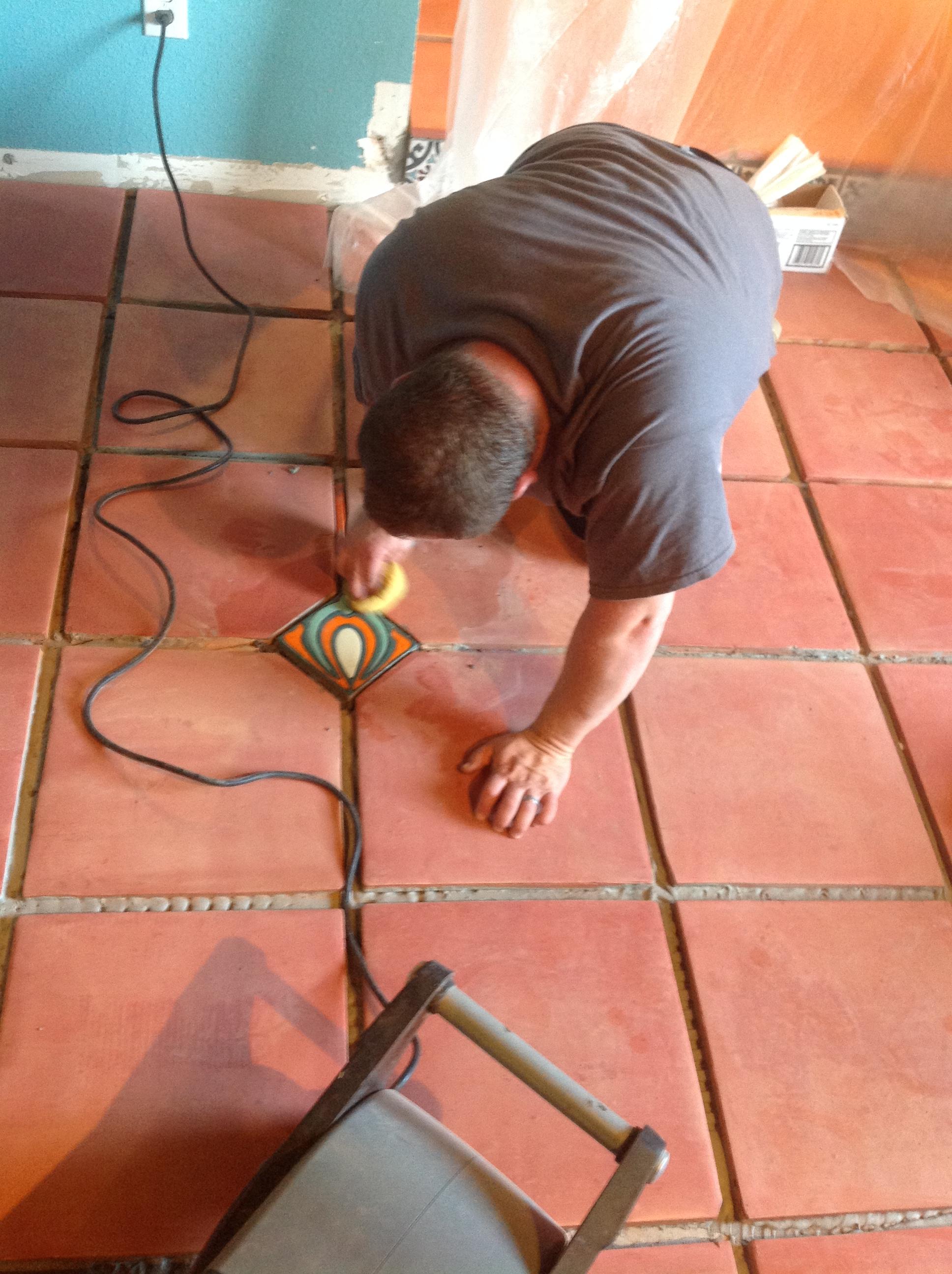 Saltillo tile cleaning california tile restoration detailed saltillo tile installation doublecrazyfo Gallery