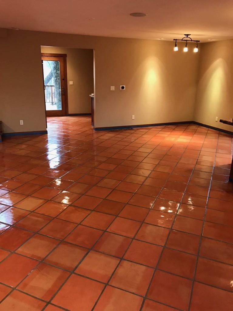 restore saltillo tile