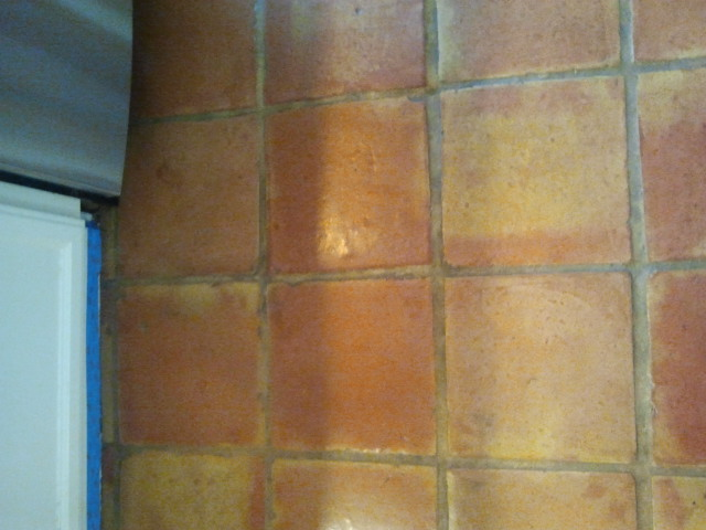 Superior Saltillo Tile Floor Refinishing Restoration Without Messy