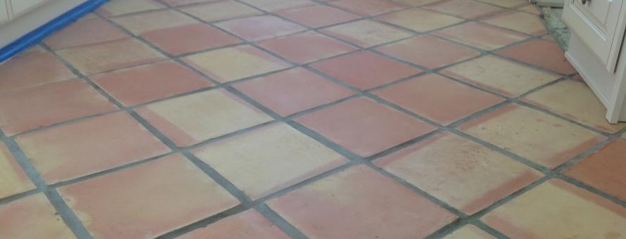 Terra Cotta Saltillo Paver Refinishing Stripping All