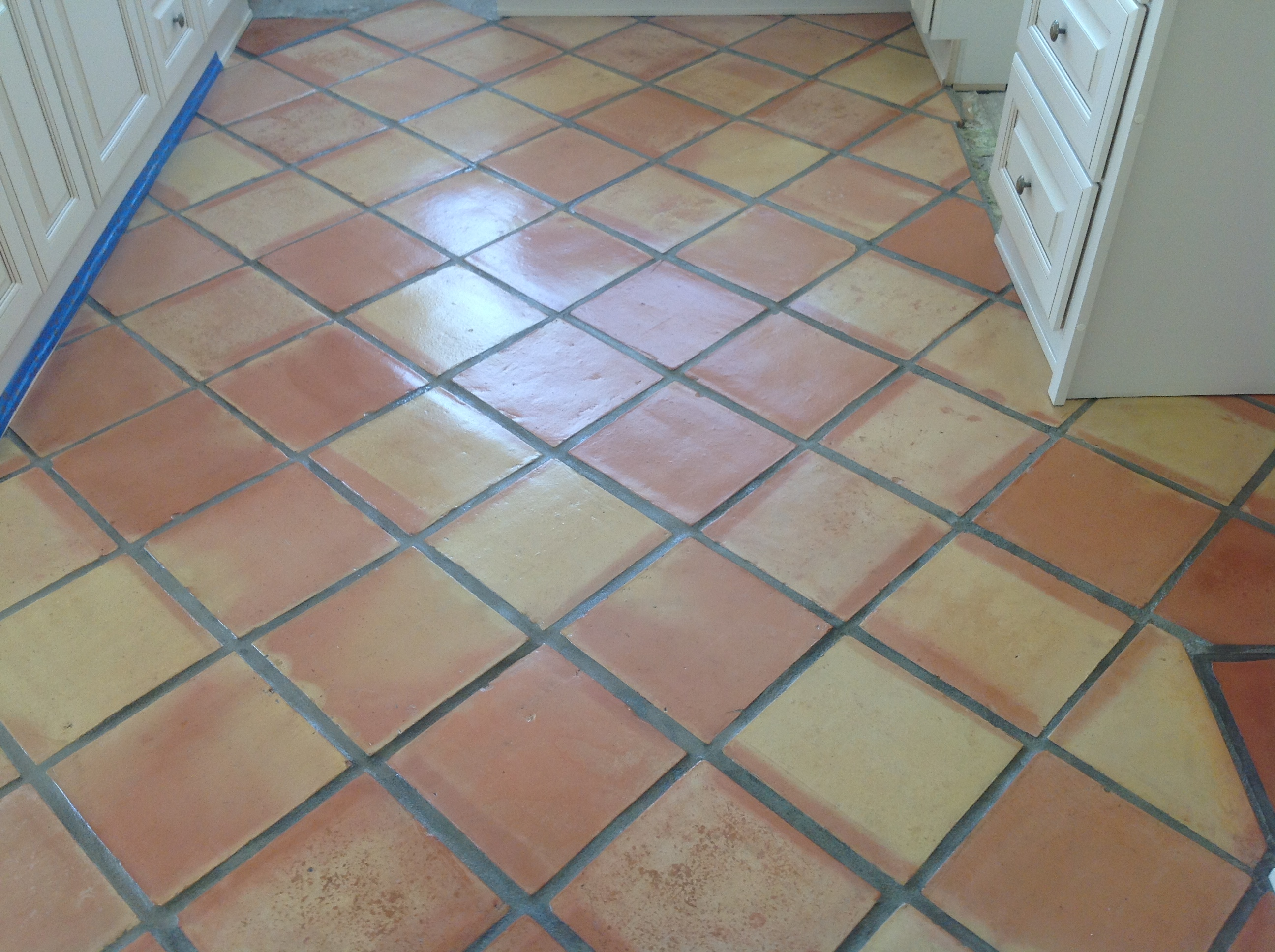 Saltillo clay floor tile blitz blog how to seal mexican saltillo pavers properly and impress your guest dailygadgetfo Images
