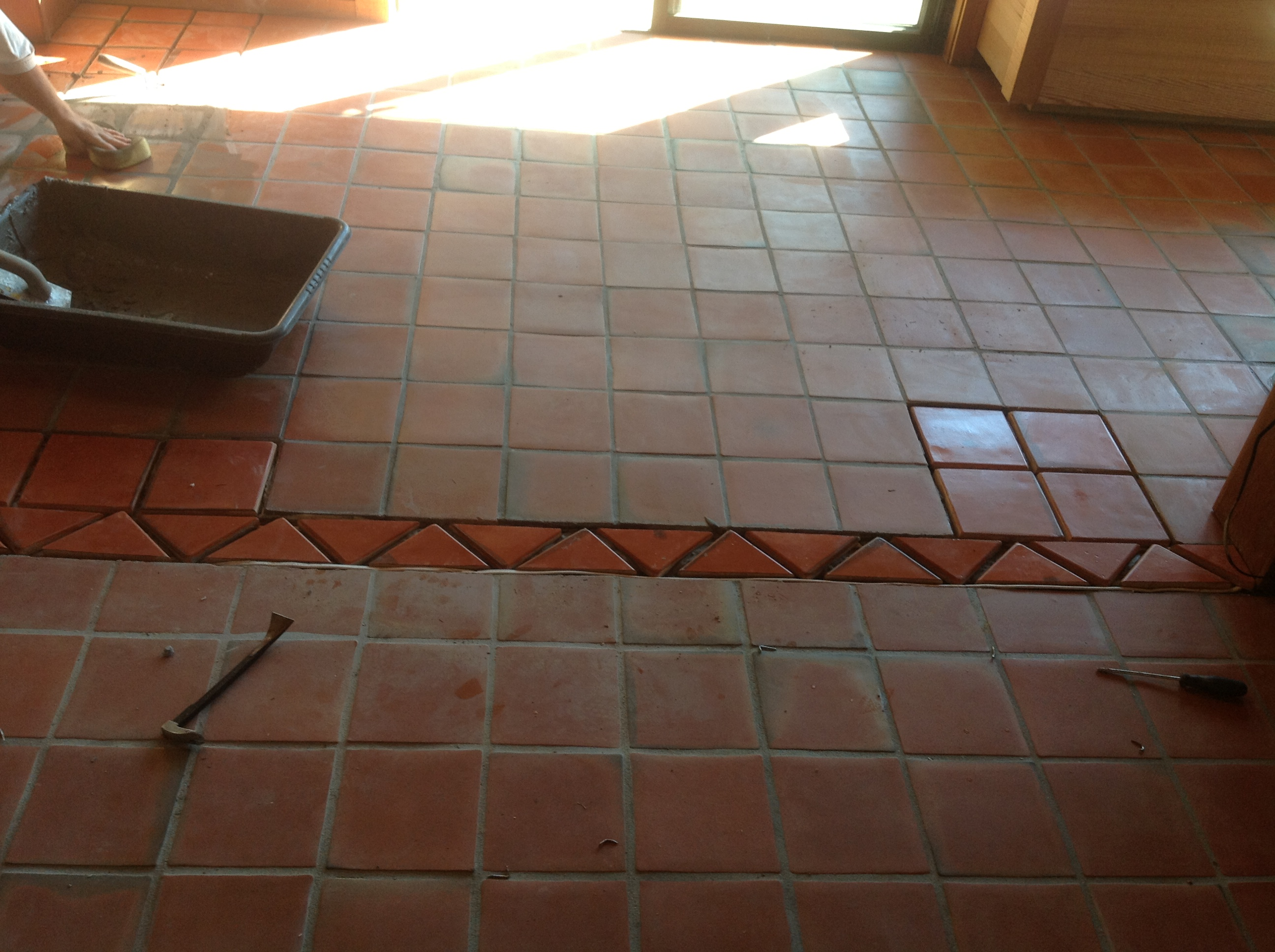 Mexican Paver Replacement Amp Repair California Tile