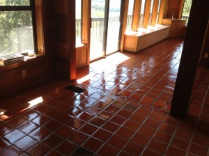 custom stained pavers