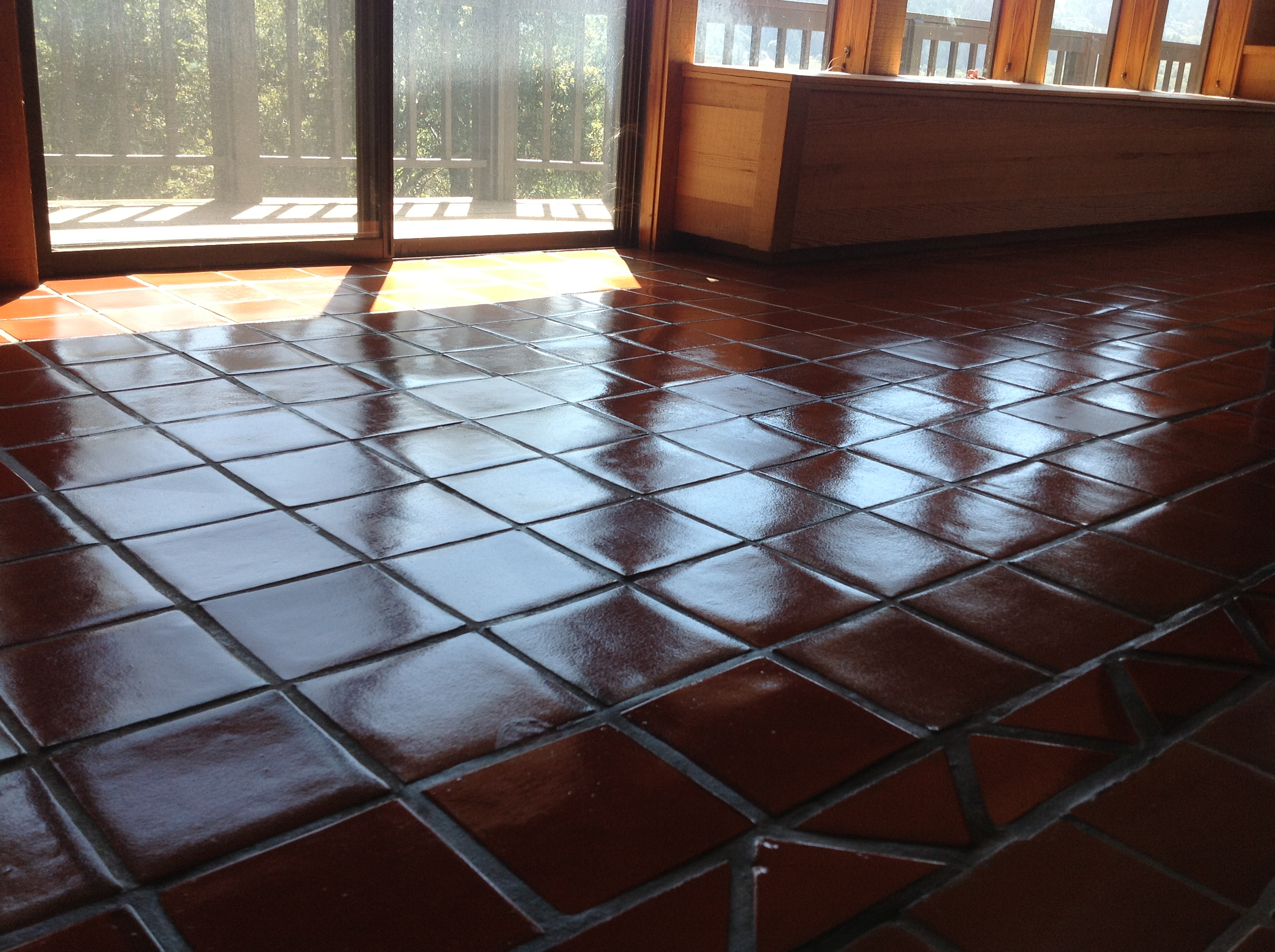 Seal Tile Floor >> Mexican Paver Replacement & Repair | California Tile ...