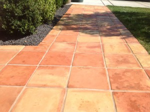 color enriched mexican paver