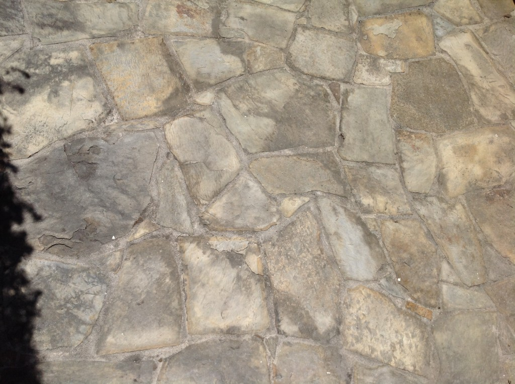 irregular slate tiles