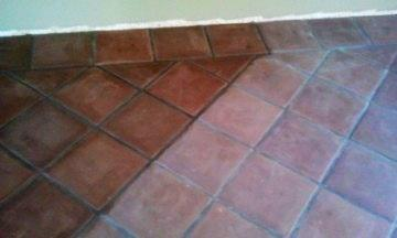 Paver Floor Staining Color Match California Tile Restoration