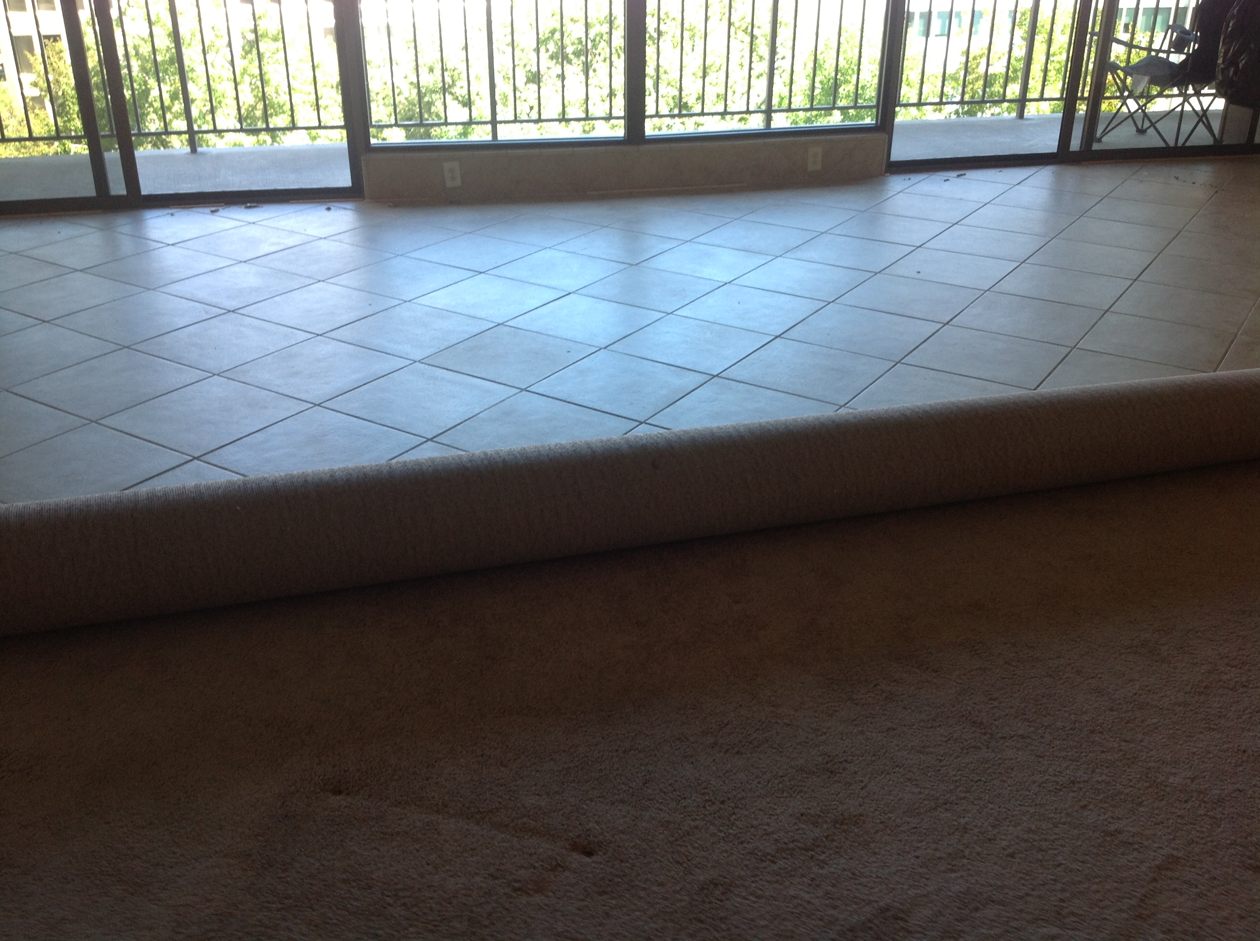 Porcelain Tile Carpet Glue Removal | California Tile Restoration ...