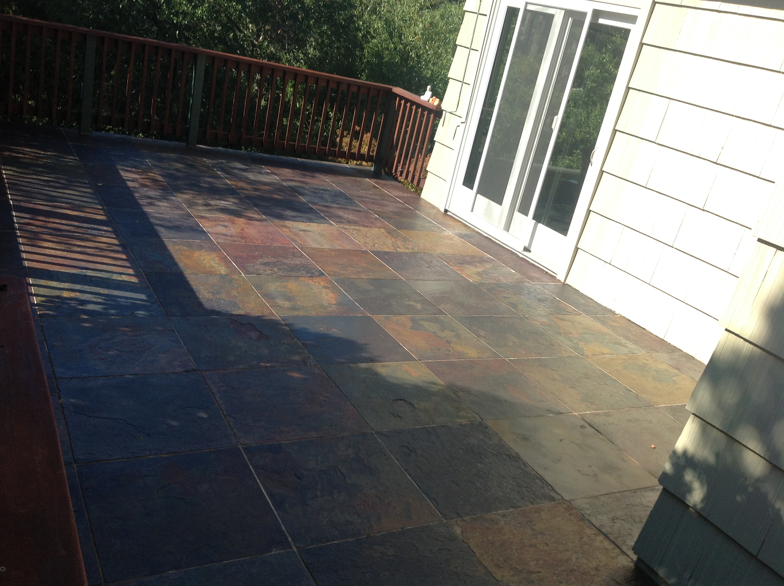 Bay Area Slate Cleaning Sealer Removal Maintenance California