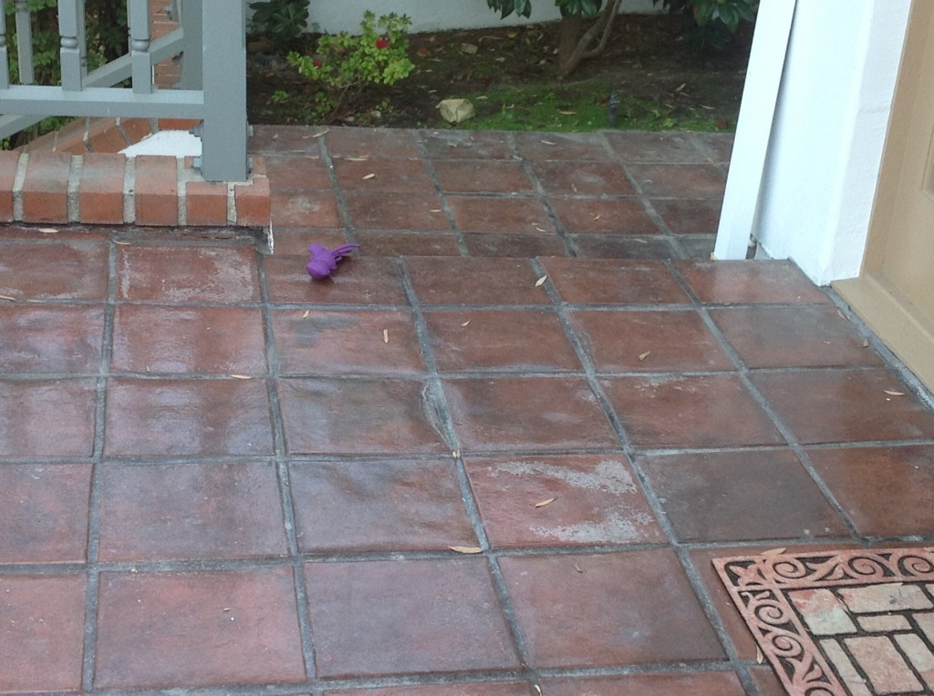 exterior paver tile patio