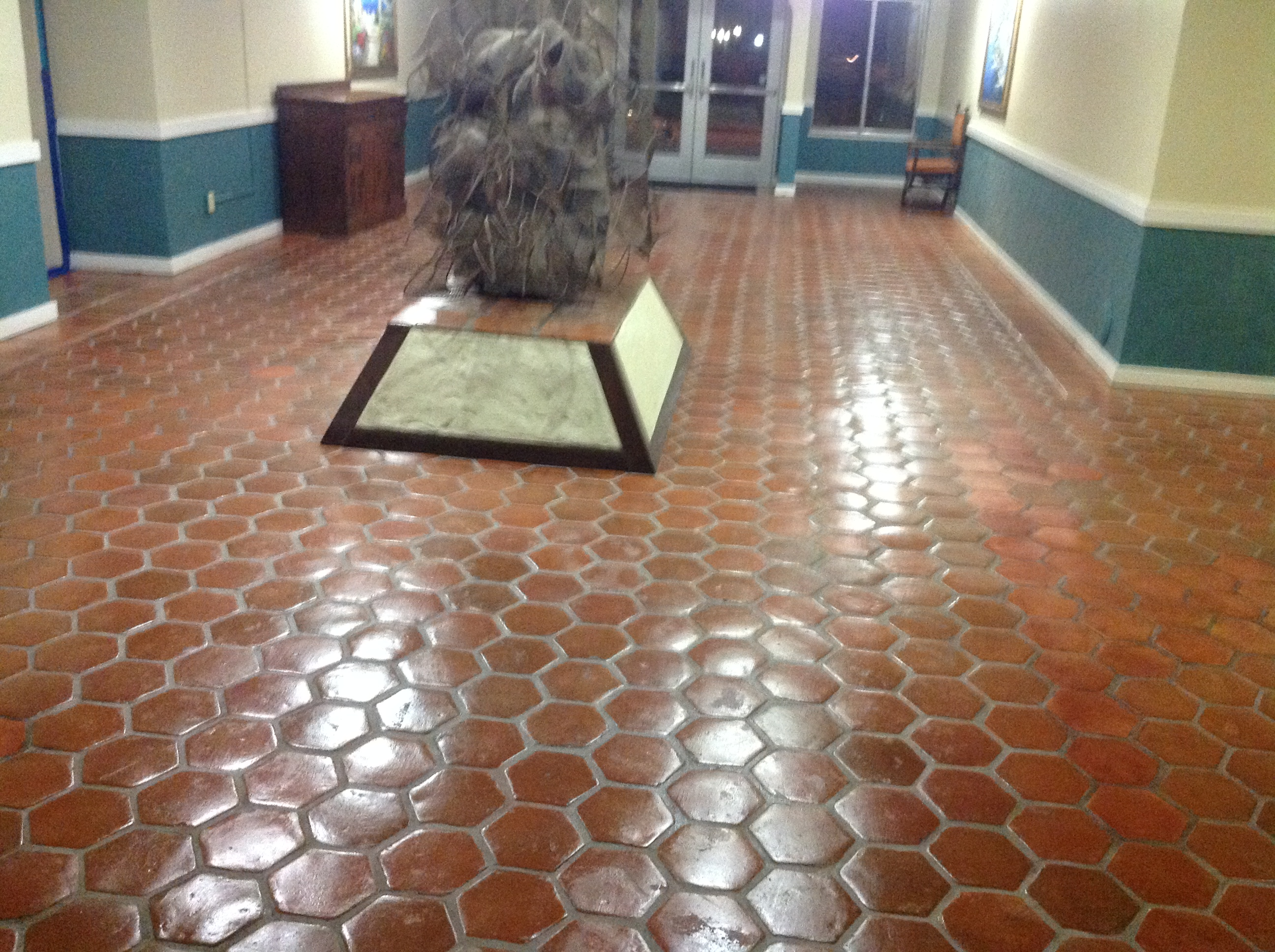 Commercial Cleaning Restaurants Bathrooms Lobby Flooring