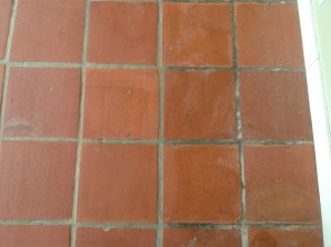 strip antique pavers