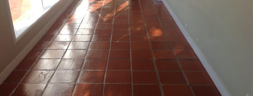 shiny antique pavers