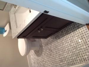 polished bathroom