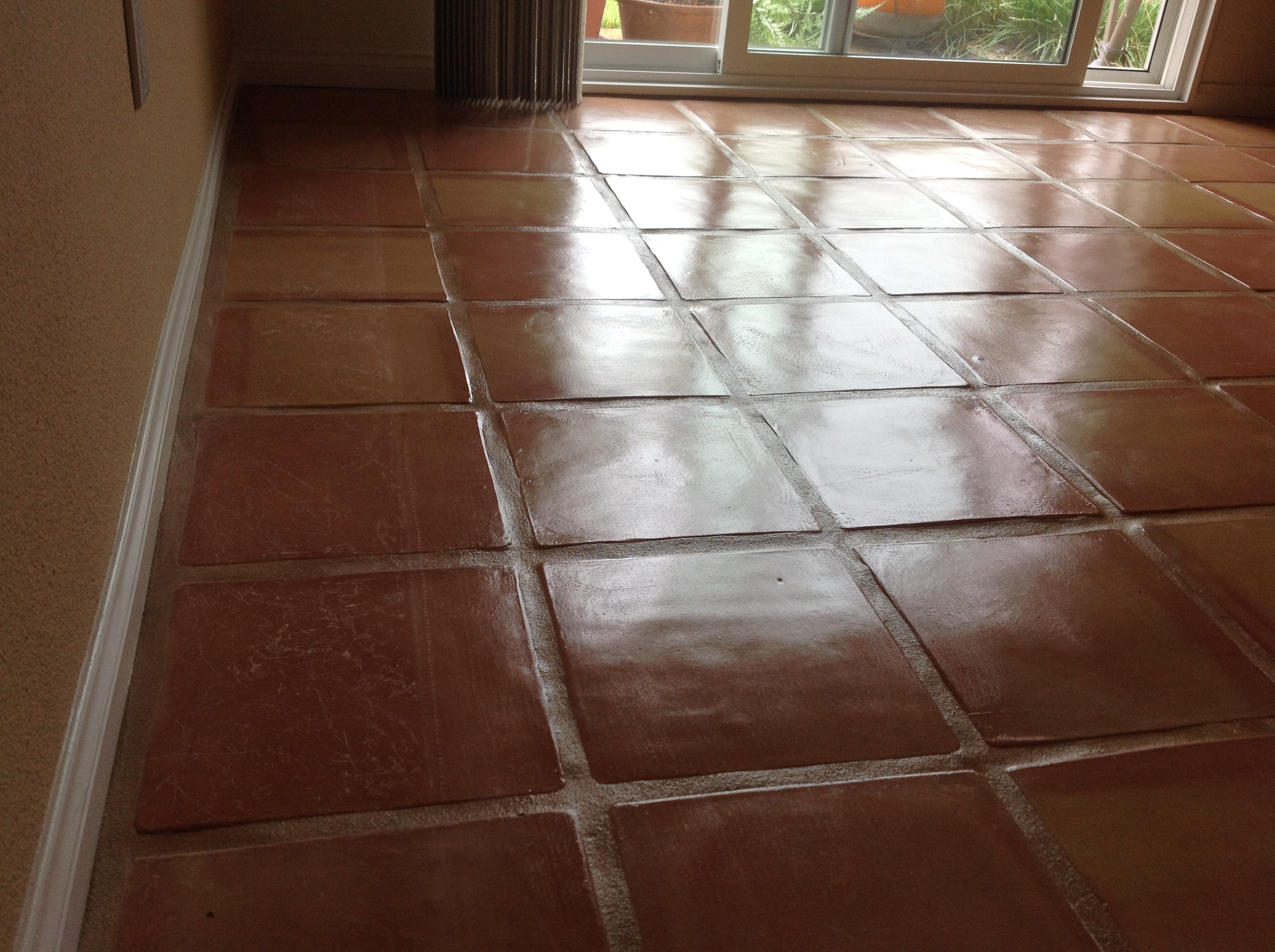 Saltillo Tile Dirty, Peeling, Dull? California Tile Refinishing