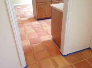 saltillo tile kitchen
