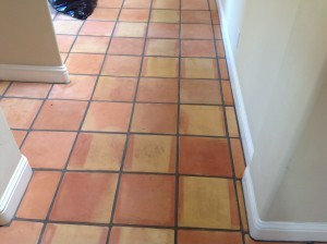 cleaning saltillo tiles coronado