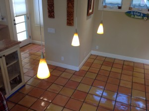 refinished saltillo tiles coronado