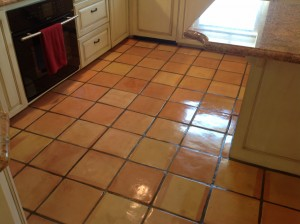 saltillo tile kitchen