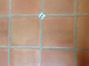 dull saltillo tiles