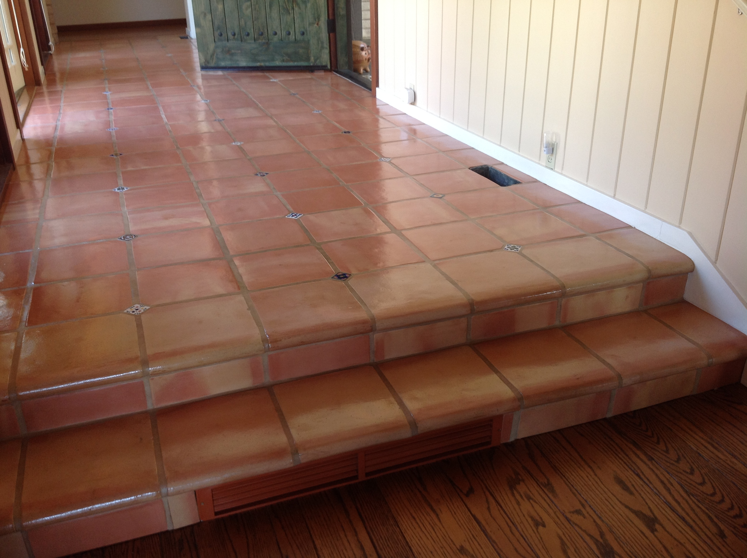 Seal Tile Floor >> Spruce up those Saltillo Tiles from Dull to Shine in no Time
