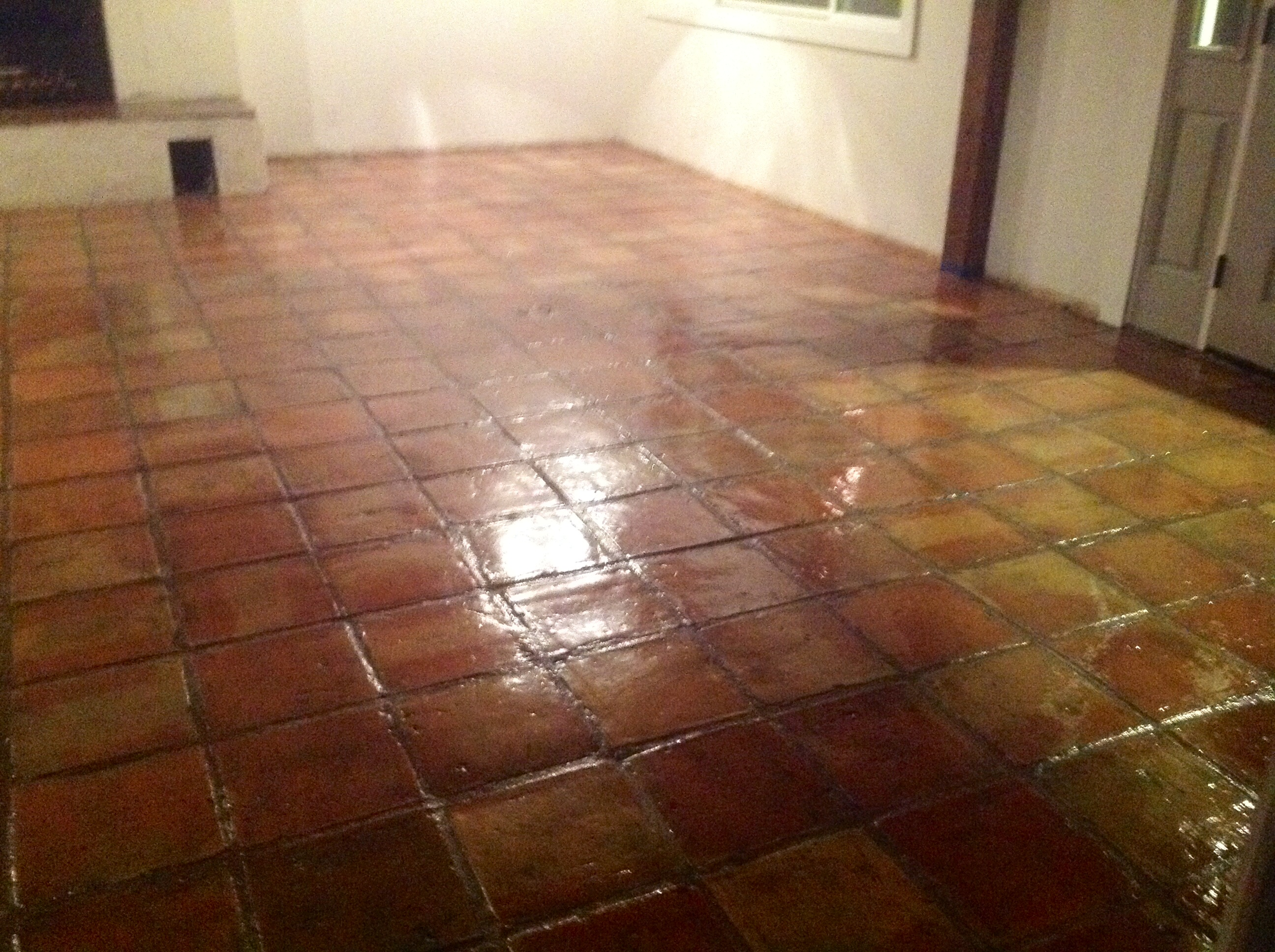 Saltillo Mexican Tiles Stripped Cleaned Amp Sealed In