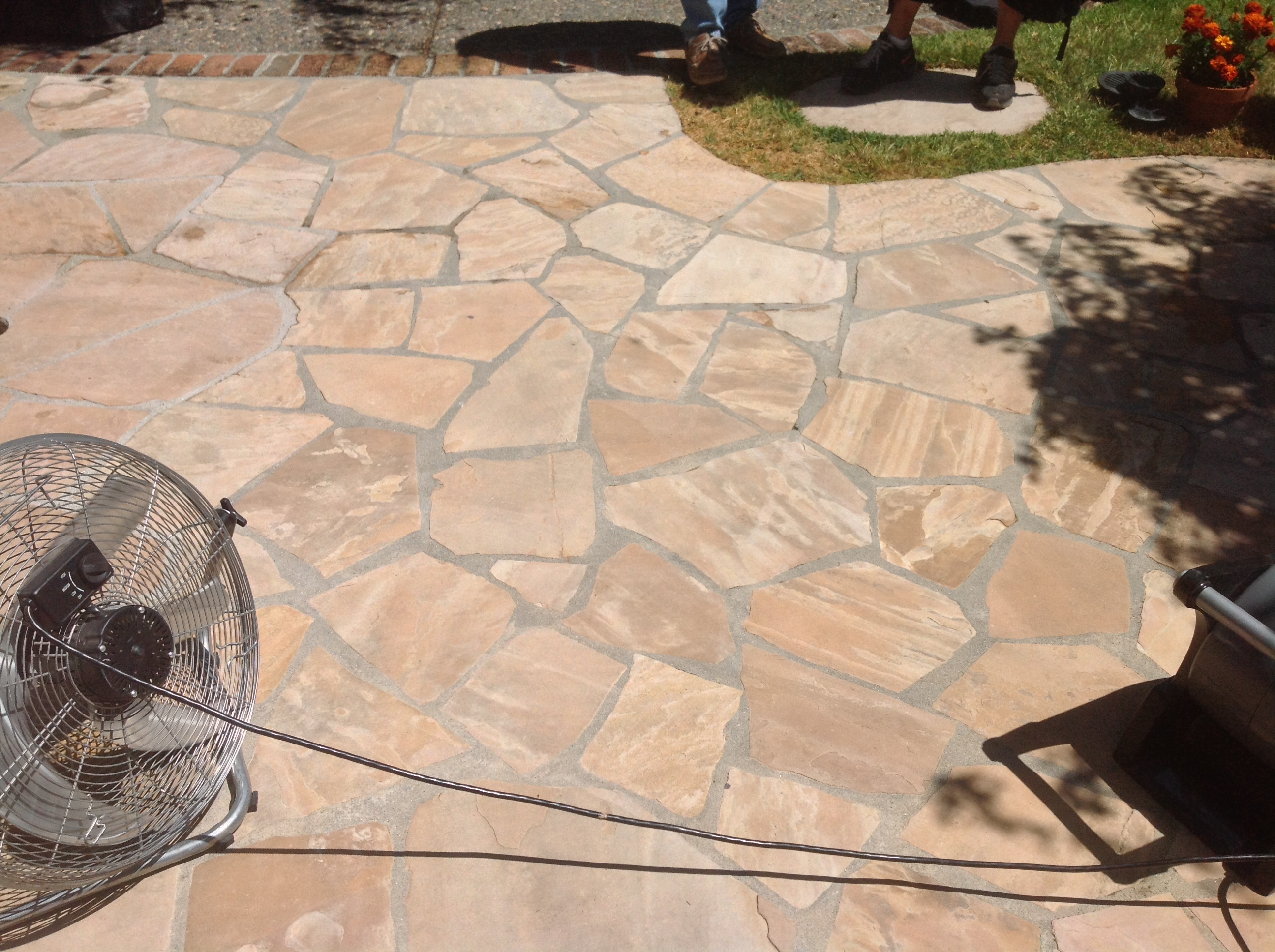 patio stone patios polymeric between put of flagstone to luxury sand slate dust joints what or