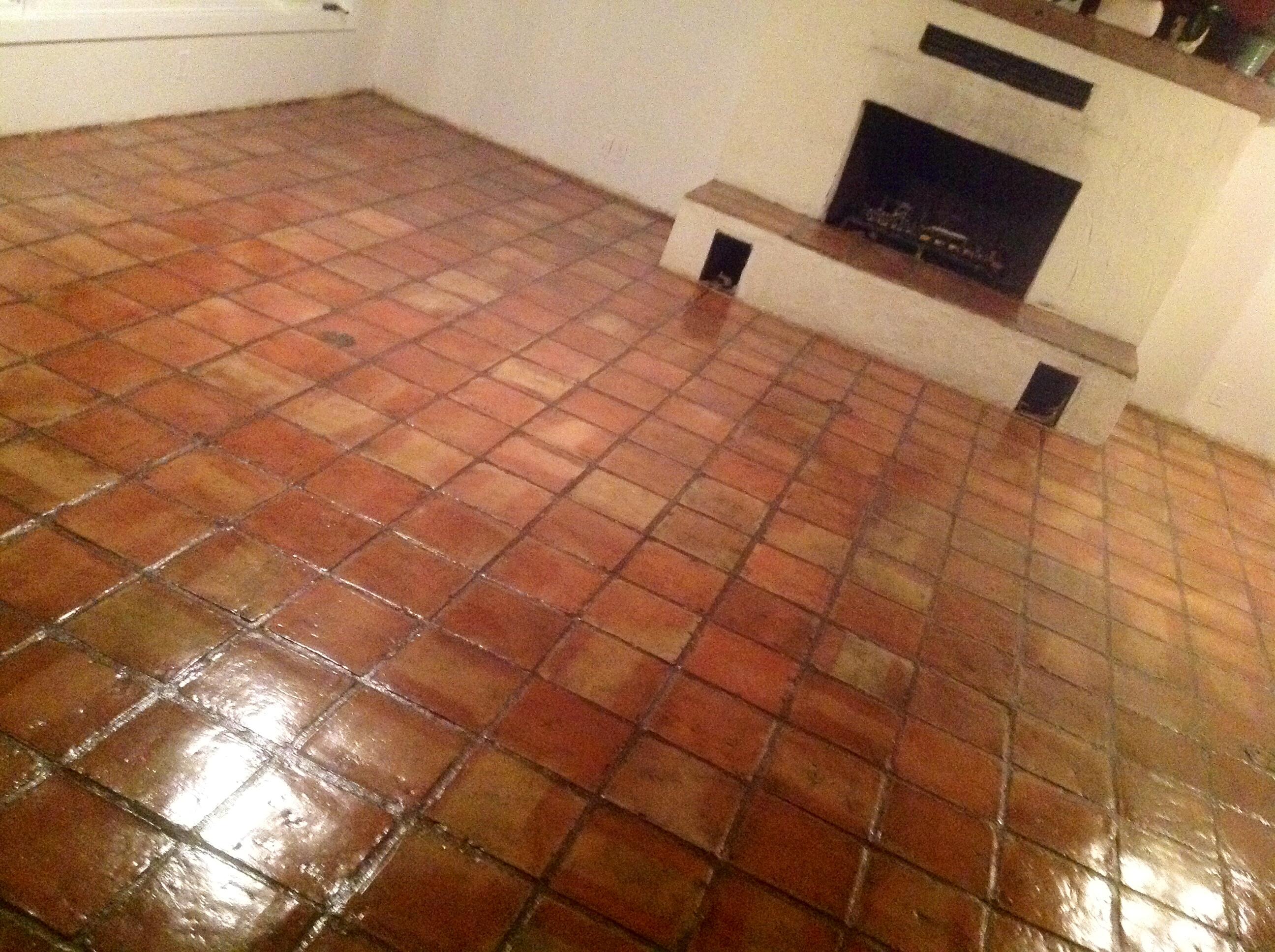 Sealed Saltillo Tiles Redlands Ca Floor