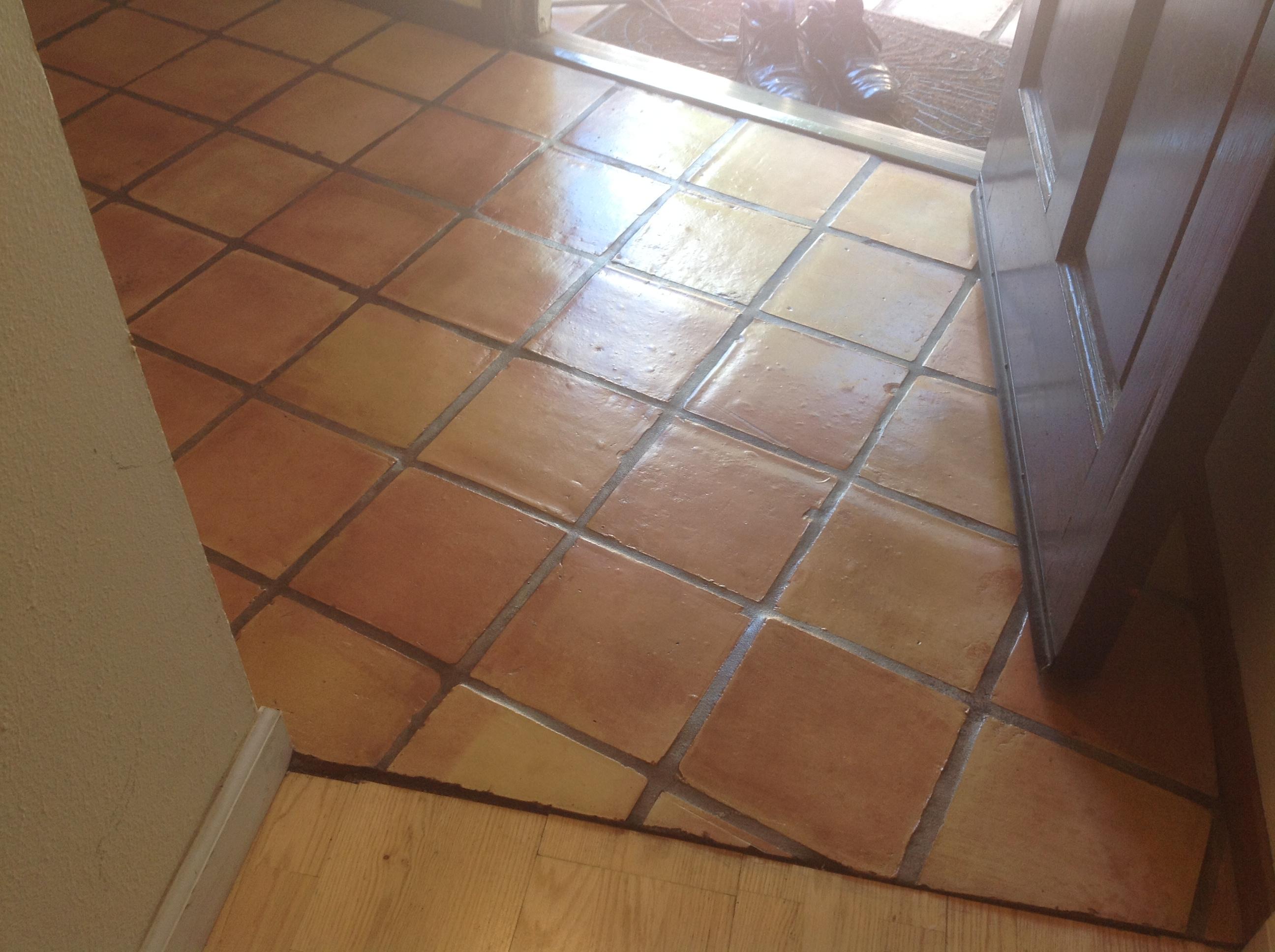 Antique Saltillo Floor Cleaning Amp Refinishing In Santa Cruz Ca