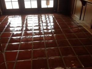 resealing saltillo tiles