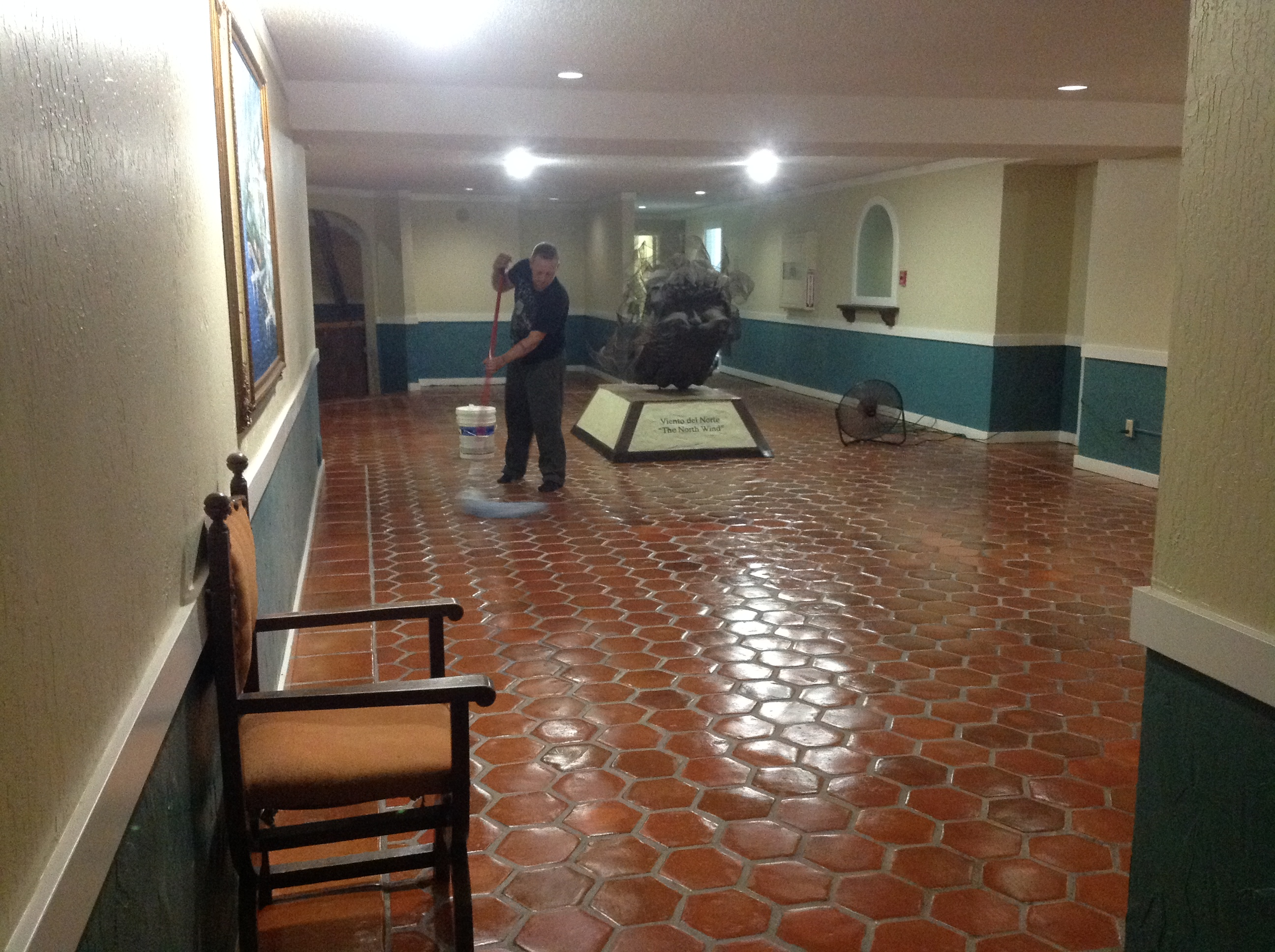 Commercial Cleaning Restaurants Bathrooms Lobby